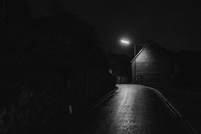 Flögen (Westerwald) bei Nacht